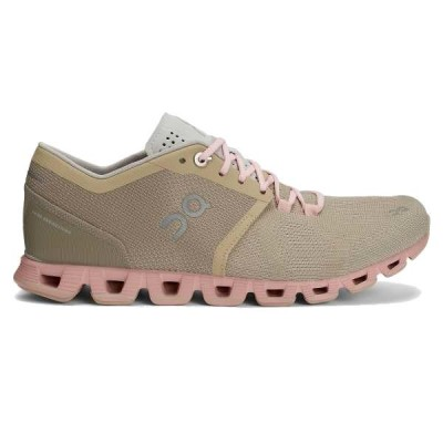 кроссовки ON Cloud X W 000020.99904 Sand / Rose