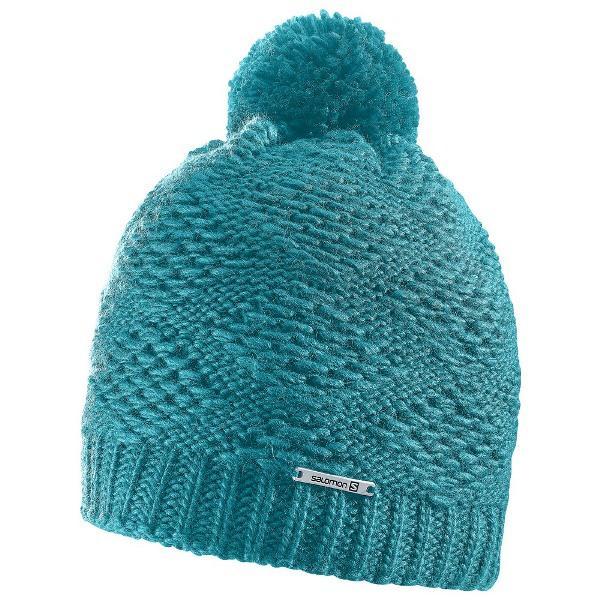 шапка. SALOMON KUBA 390533 син шерсть акрил af31759a464be