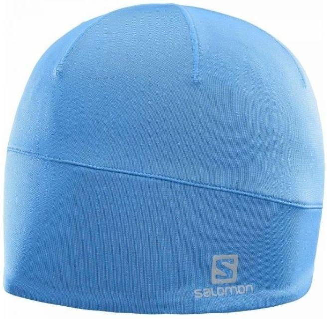 шапка. SALOMON ACTIVE BEANIE 394920 голубая 33bdc3d3a06b8