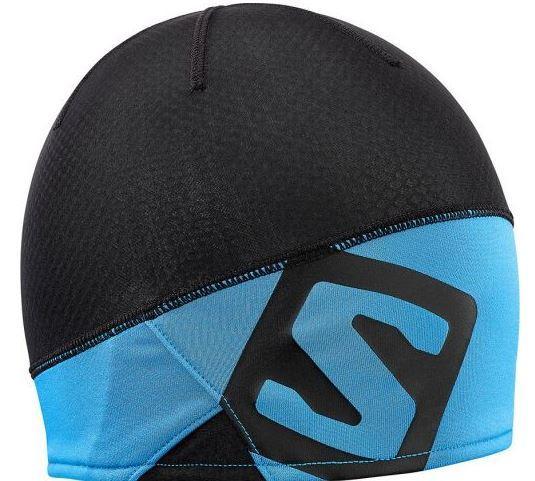 шапка. SALOMON RS PRO BEANIE 402921 черн голуб. d12152d9c2131