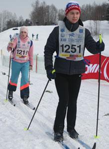 Участники Токсовского марафона 2006