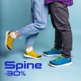-30% на обувь Spine
